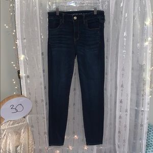 AEO Standard Height Jeggings Size 8